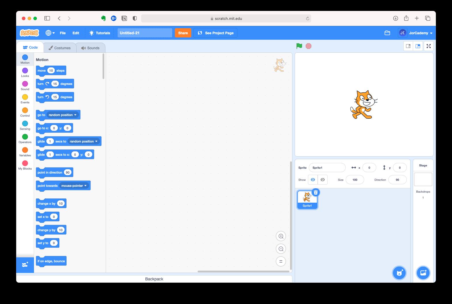 Scratch-editor